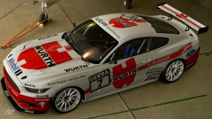 Wurth Wolf Racing 1989 DTM Ford Mustangs