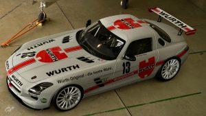 Heiner Weiss 1987 DTM Mercedes SLS AMG