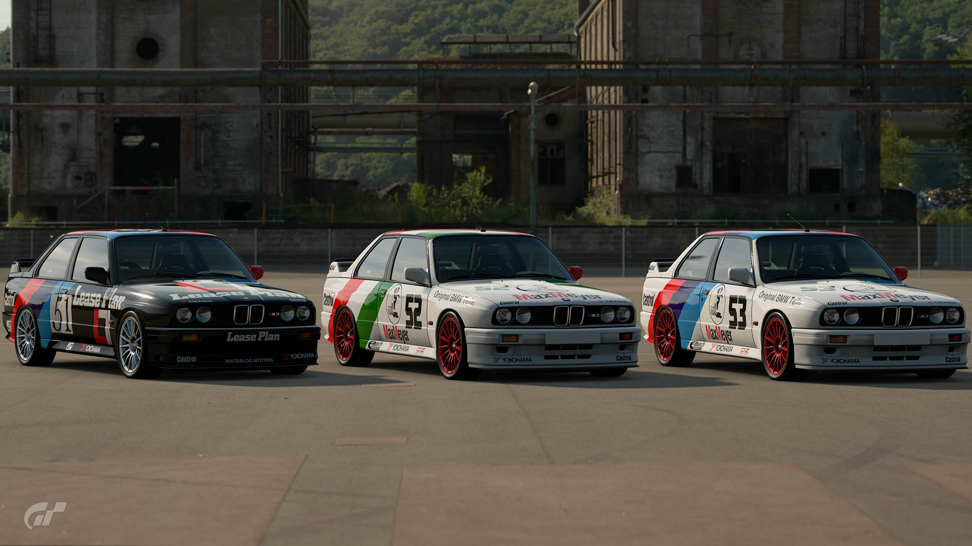 1988 ETCC Team Bigazzi BMW M3 Liveries