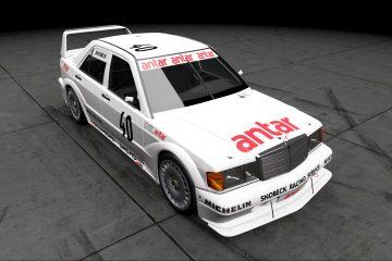 1985 ETCC Snobeck Racing Services Mercedes 190E
