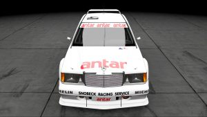 1985 ETCC Snobeck Racing Services Mercedes 190E