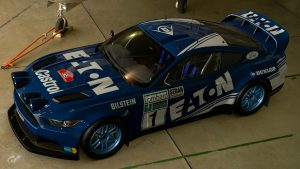 Hannu Mikkola Eaton Yale Ford Mustang Group B