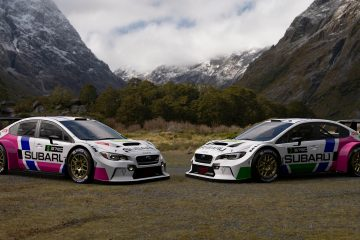 Subaru WRX Classic Legacy Tribute Liveries