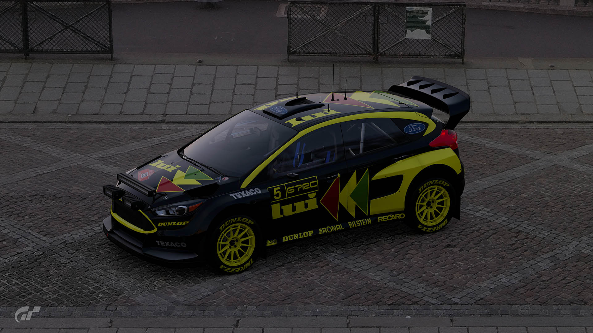 lui rally ford focus grb livery double  motorsport