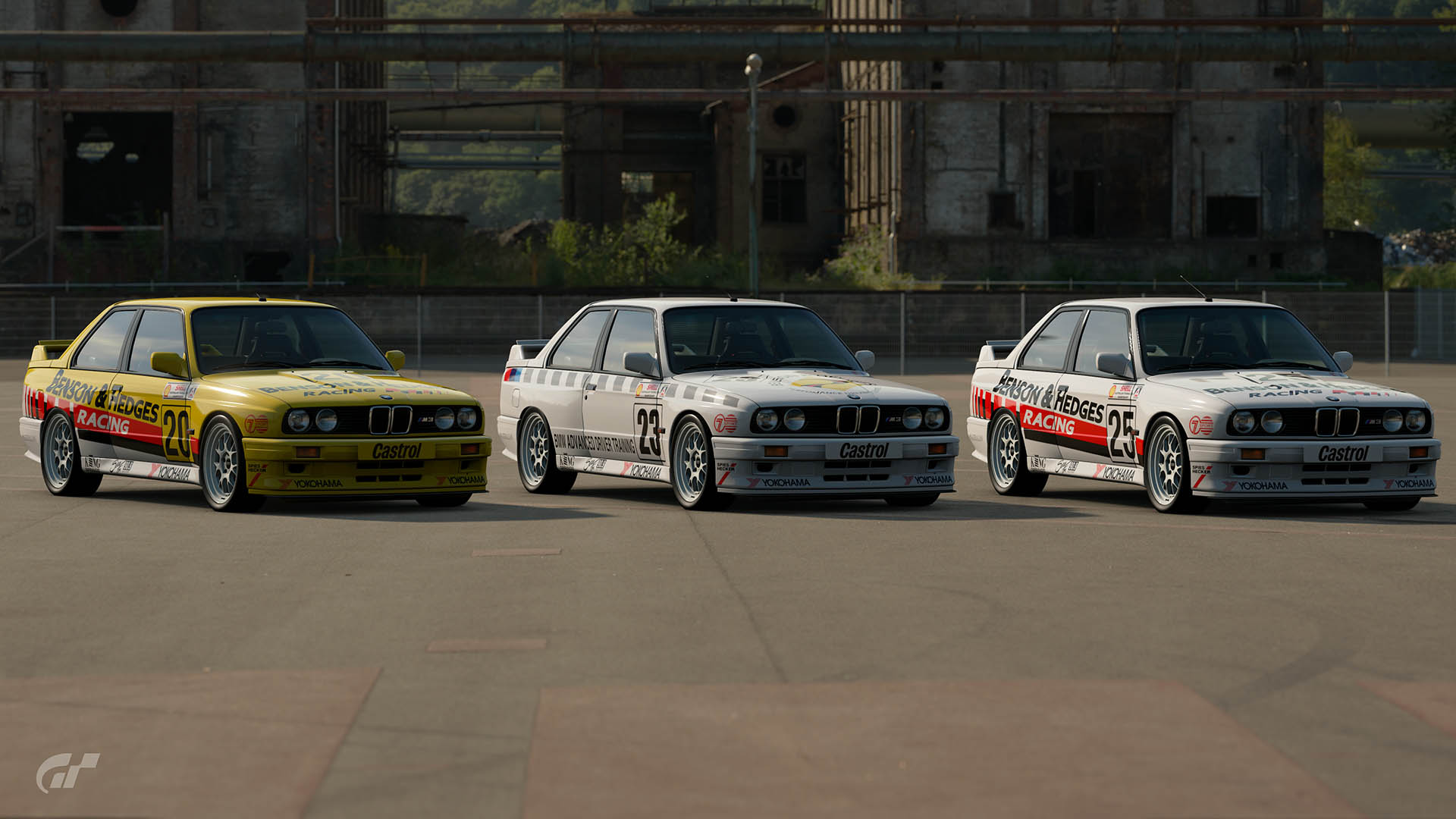 1992 ATCC Benson & Hedges Racing BMW M3 Liveries – GT Sport