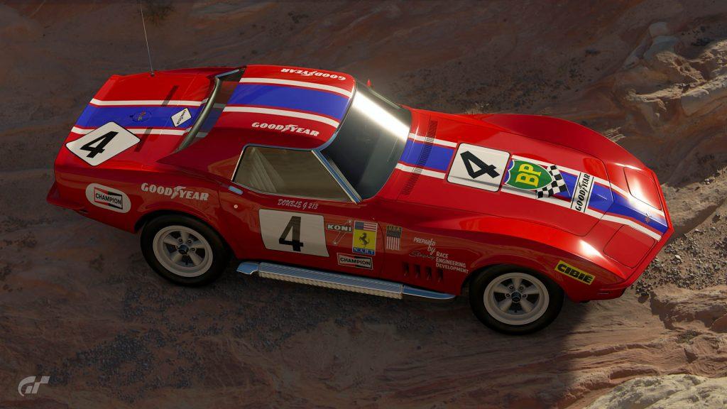 1972 NART Ferrari Stingray Livery