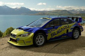 Possum Bourne Subaru WRX Tribute Livery
