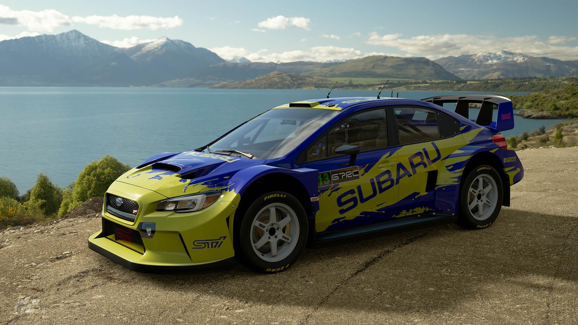 Possum Bourne Subaru Rally Australia WRX Tribute Livery