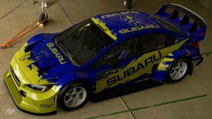 Possum Bourne Subaru WRX Tribute Livery