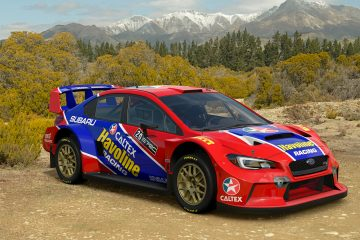 Possum Bourne Havoline Subaru WRX Tribute
