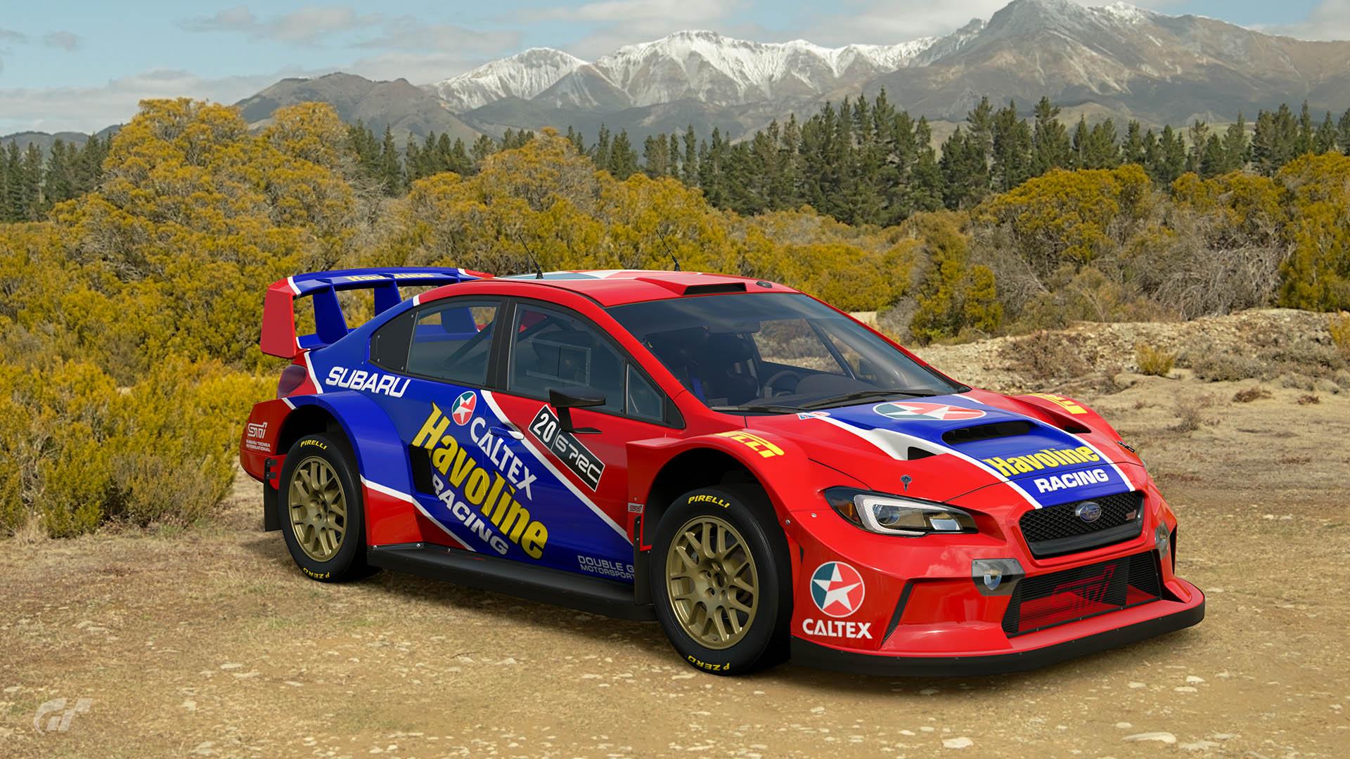 Possum Bourne Havoline Subaru WRX Tribute Livery – GT Sport