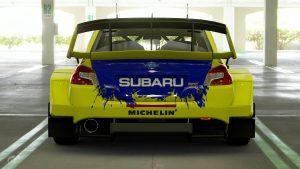 Possum Bourne Subaru Legacy Tribute WRX Livery