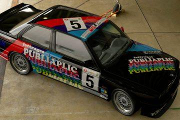 1990 Philippe Hoebeke Belgian Procar BMW M3 livery