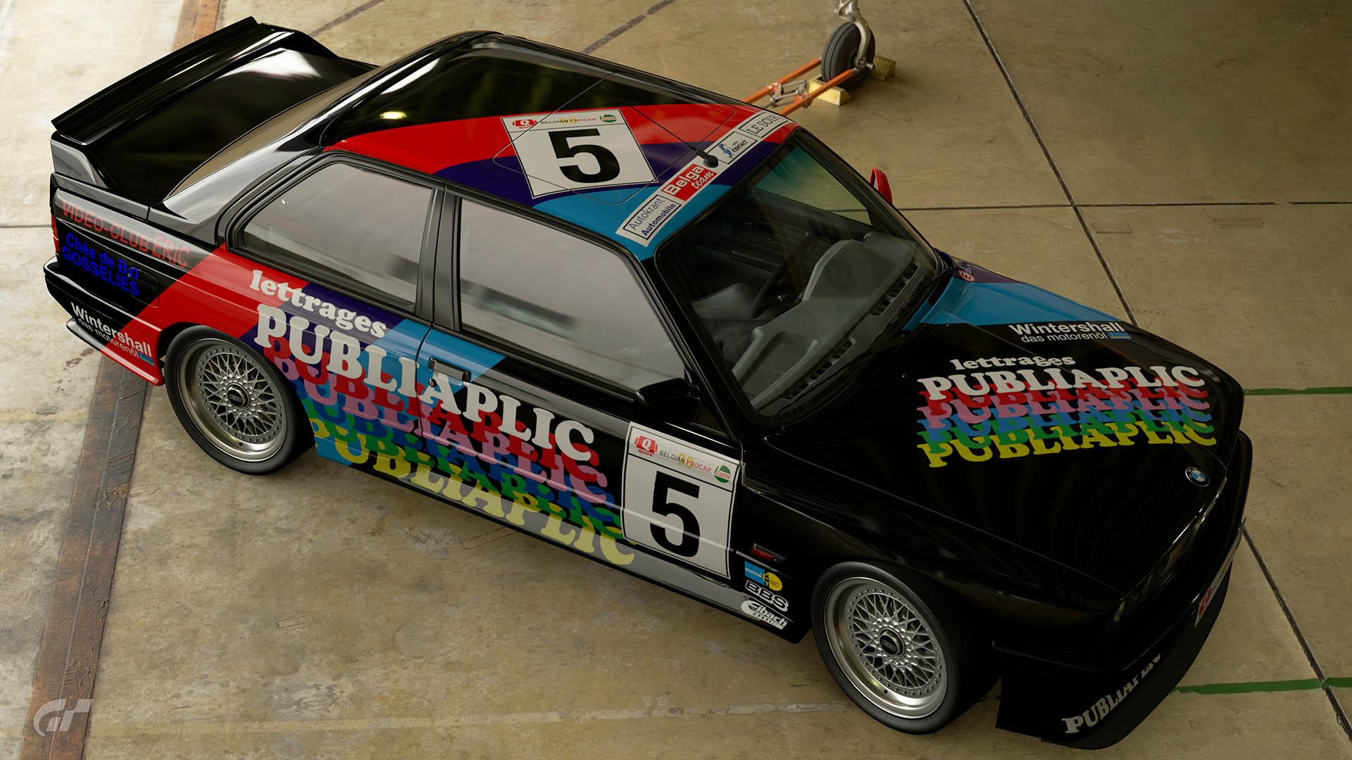 1990 Philippe Hoebeke Belgian Procar BMW M3