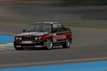 1990 Patrick Slaus Belgian Procar BMW M3 Livery