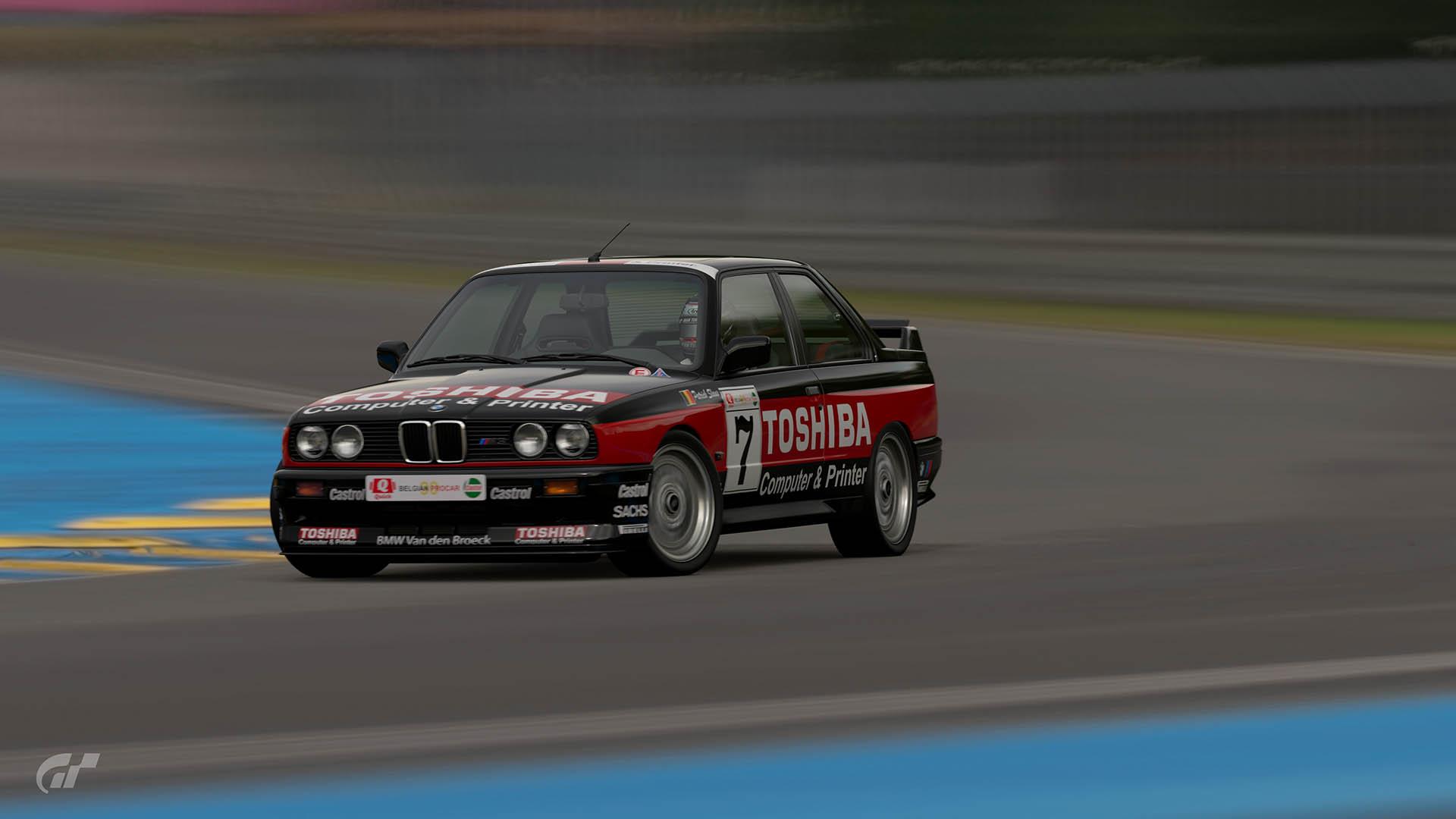 1990 Patrick Slaus Belgian Procar BMW M3