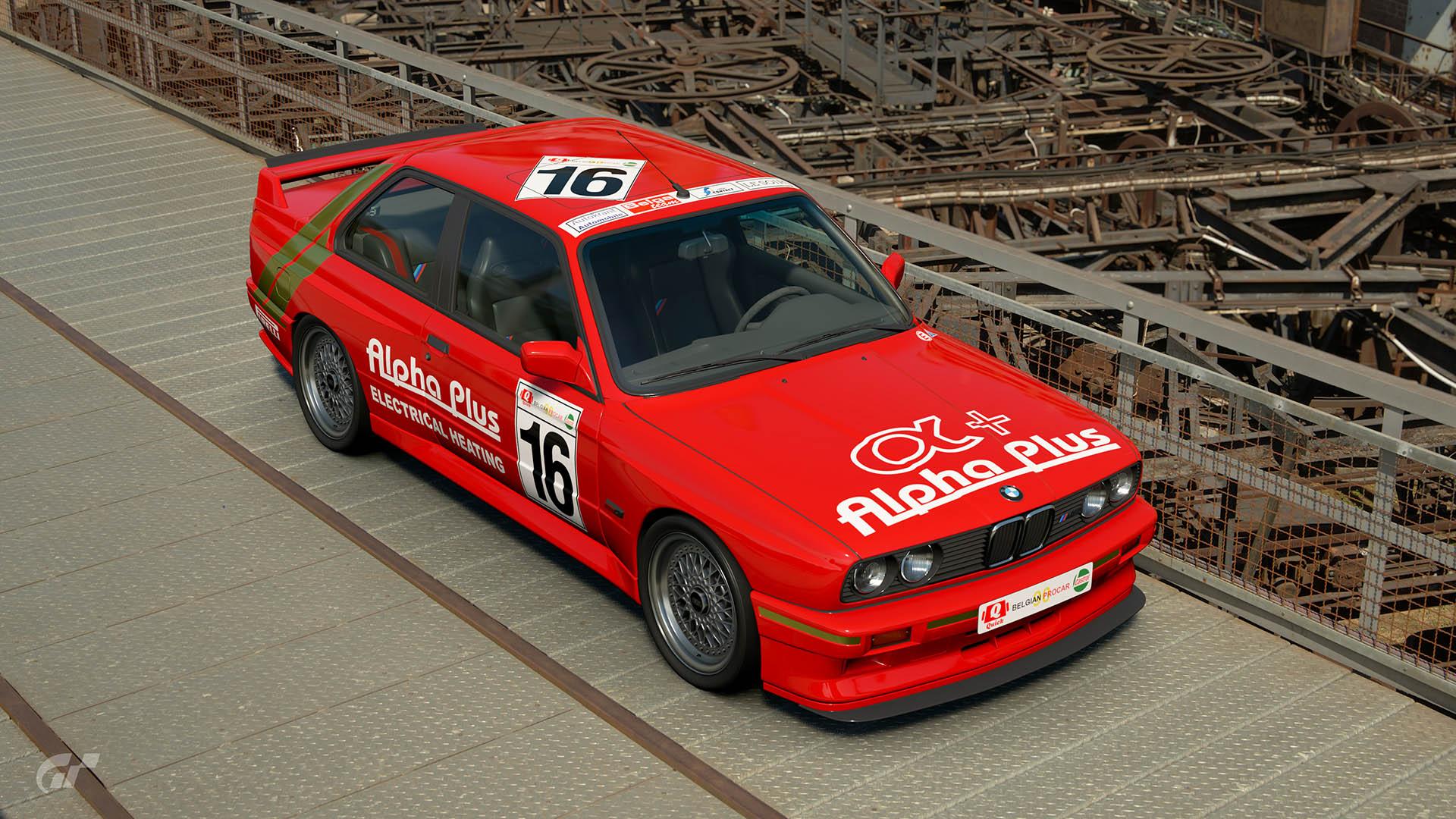 1990 Guy Van Mol Belgian Procar BMW M3