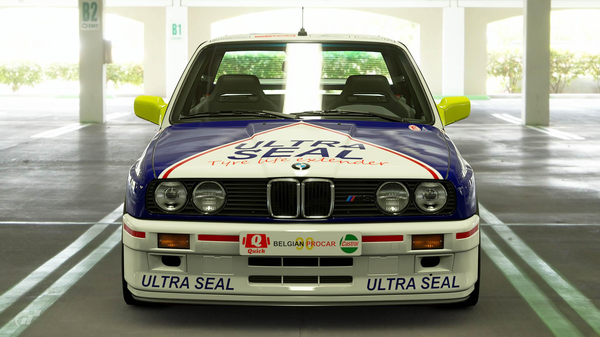 1990 Alex Guyaux Belgian Procar BMW M3