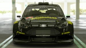 Whittakers Peanut Slab Ford Focus Gr.B Rally Car