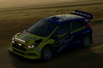 Malcolm Wilson Michel Pilot Ford Focus Tribute Livery