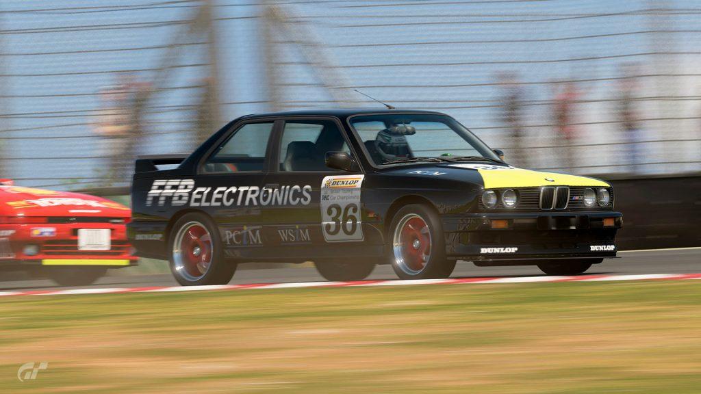 1988 David Sear BTCC BMW M3