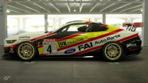 Sean Walker 1990 BTCC Ford Mustang