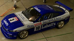 Labatt's 1990 BTCC Ford Mustang Liveries