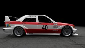 1986 DTM Leopold Gallina Mercedes 190E Livery
