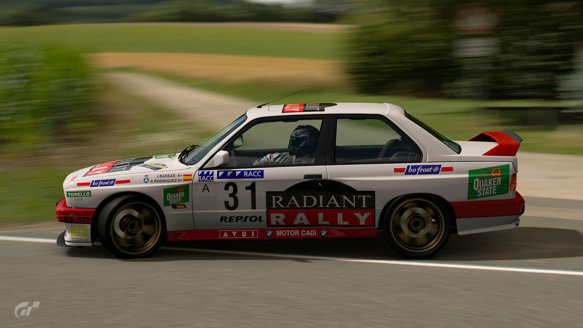 Pep Bassas 1995 Rally Catalunya – Costa Brava BMW M3