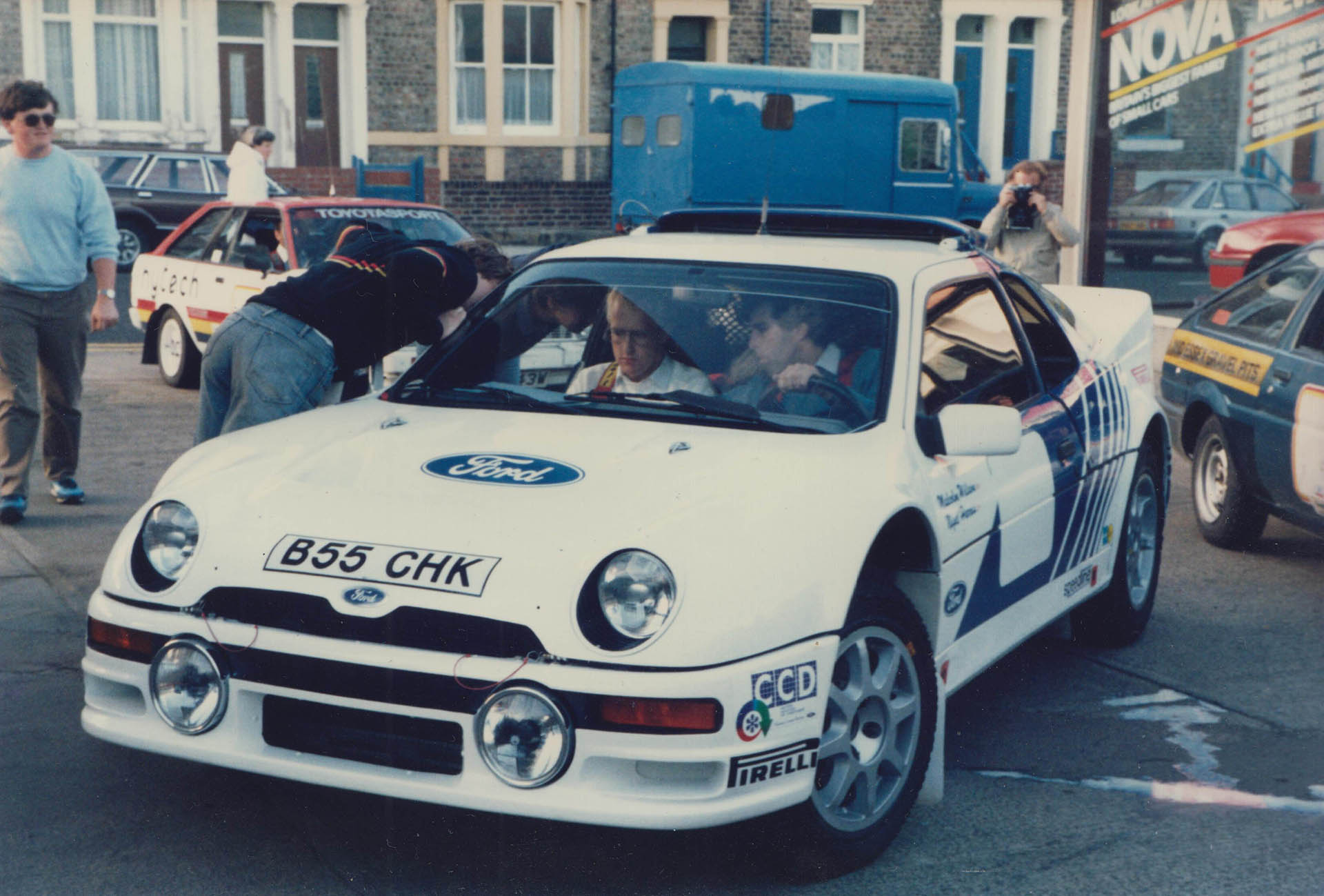 1985 Lindisfarne Rally Scrutineering Photos