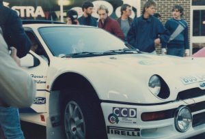 1985 Lindisfarne Rally Ford RS200