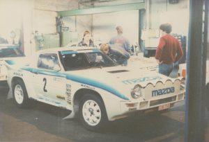 1985 Lindisfarne Rally Ingvar Carlsson Mazda RX7