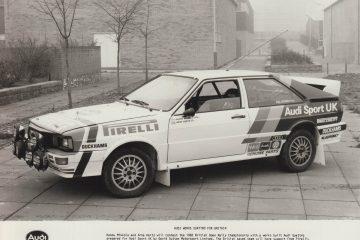 1982 Hannu Mikkola British Open Rally Championship Audi Quattro