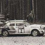 Hannu Mikkola 1982 Scottish Rally Audi Quattro