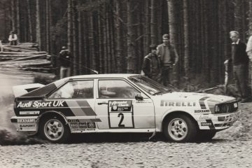 Hannu Mikkola 1982 Scottish Rally Audi Quattro