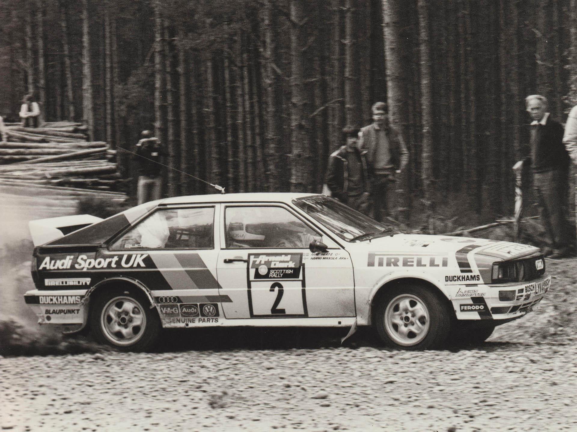 Audi Sport UK Press Release 09/09/1982