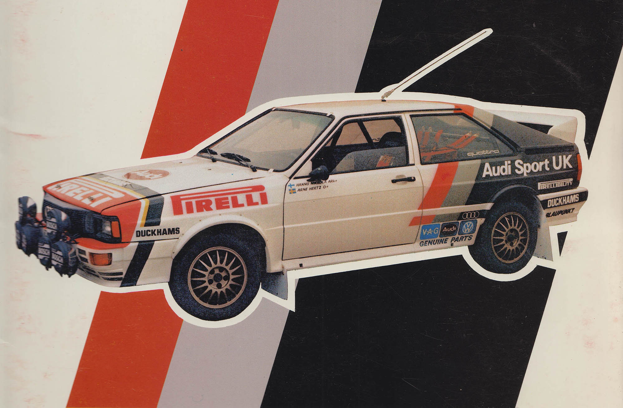 Audi Sport UK Press Release 28/10/1981