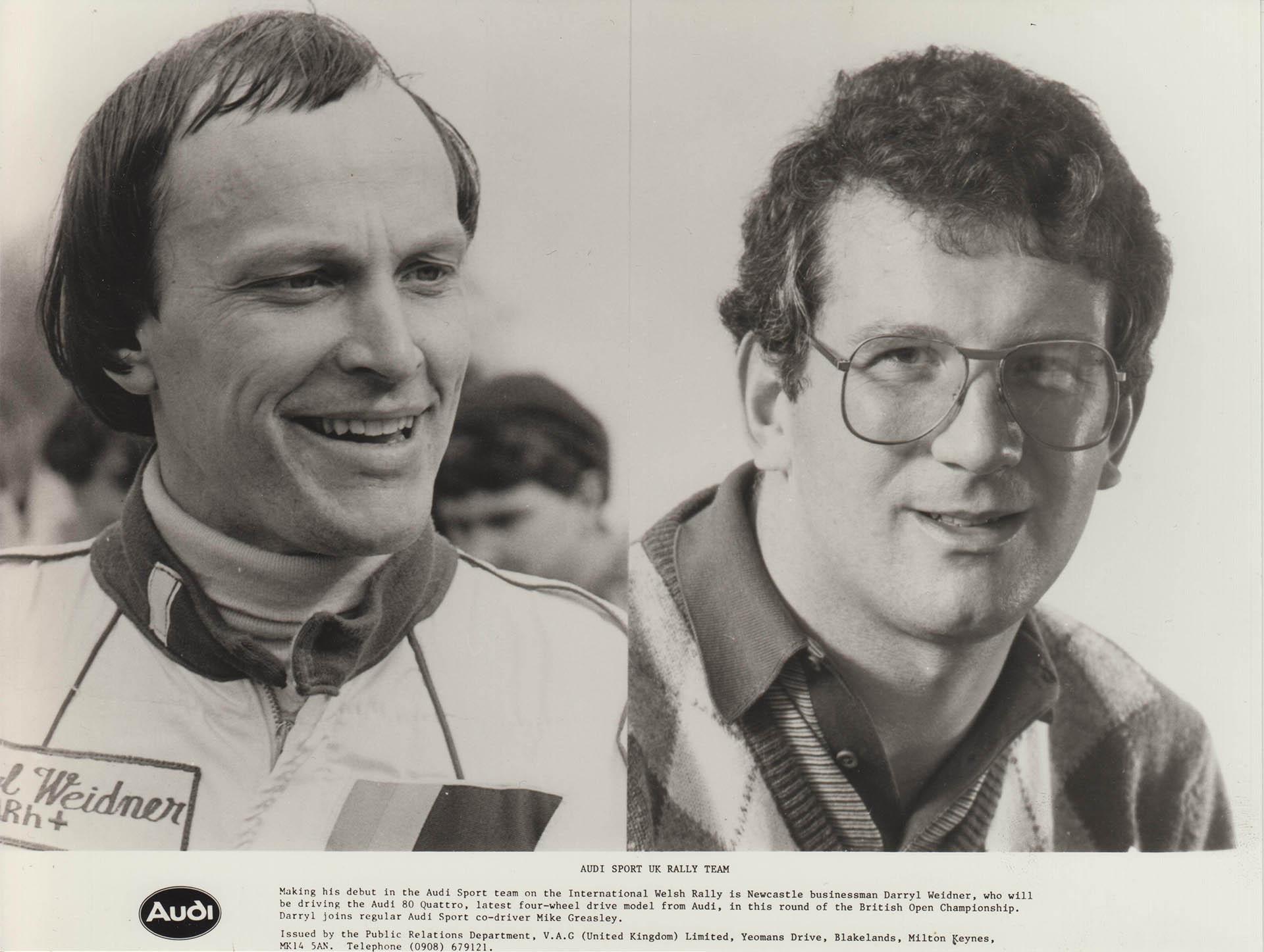 Audi Sport UK Press Release 20/04/1983