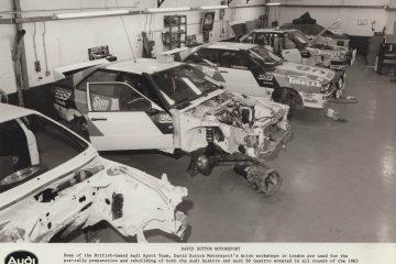 Audi Sport UK News 1983