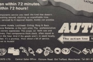Autela Components Ltd Advert 1972