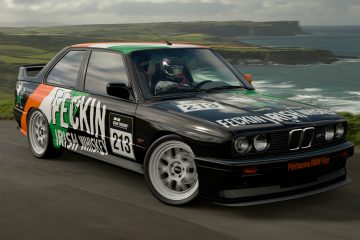 Feckin Irish Whiskey BMW M3