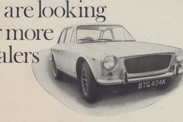 Gilbern Dealer Advert - 1972