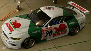 Francois Semoulin Belgian Procar Ford Mustang Livery