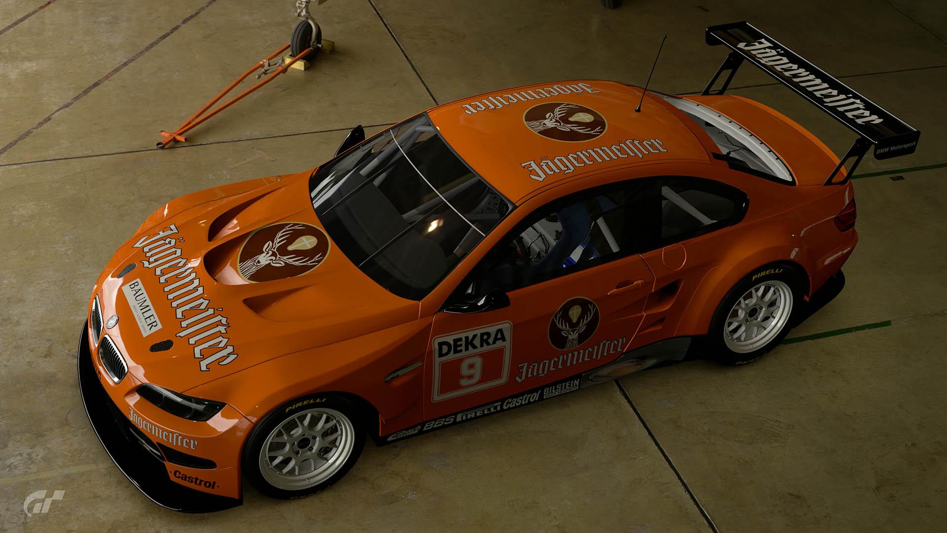 Armin Hahne 1993 DTM BMW M3 GT