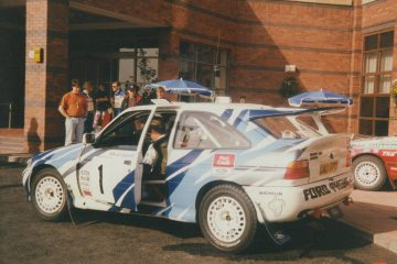 Malcolm Wilson 1992 Centurion Rally Ford Escort RS Cosworth