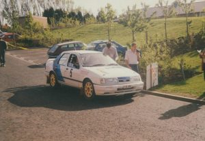 92 Centurion Rally Stephen Finlay and Wilson Dessie Ford Sierra RS Cosworth 4x4