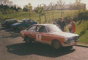 1992 Centurion Rally Warren Philliskirk and Margaret Smith Ford Escort RS