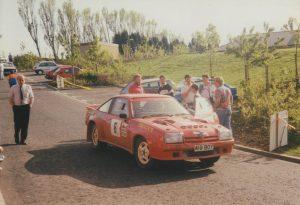 1992 Centurion Rally Andy Elliott and James Ryland Opel Manta 400