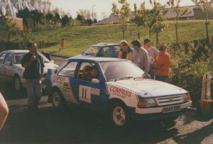 1992 Centurion Rally Ray Cook and John Parker Ford Escort Mk3