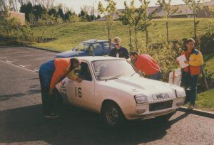 1992 Centurion Rally Chris Bown and Roger Bown Vauxhall Chevette